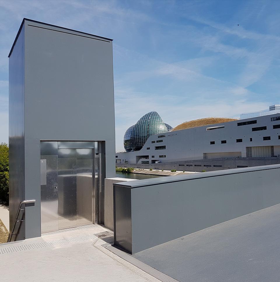 Étude, installation, modernisation, maintenance et dépannage d'ascenseurs et solutions de mobilités verticales