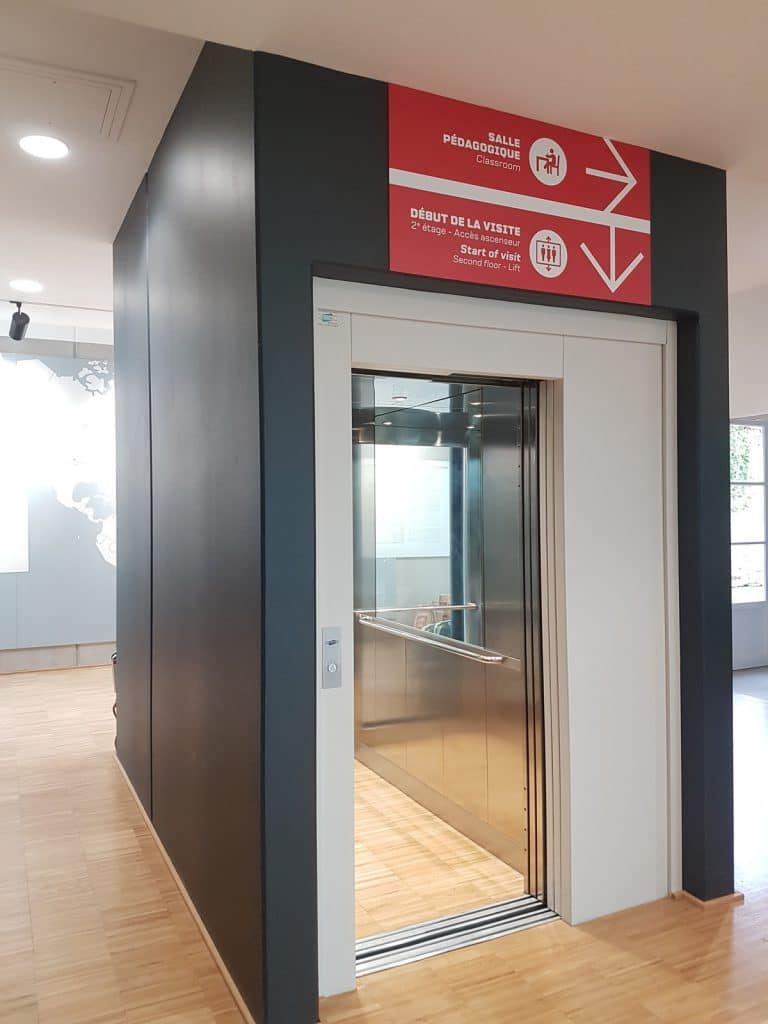 ascenseur Felesa vitre électrique pmr normandie