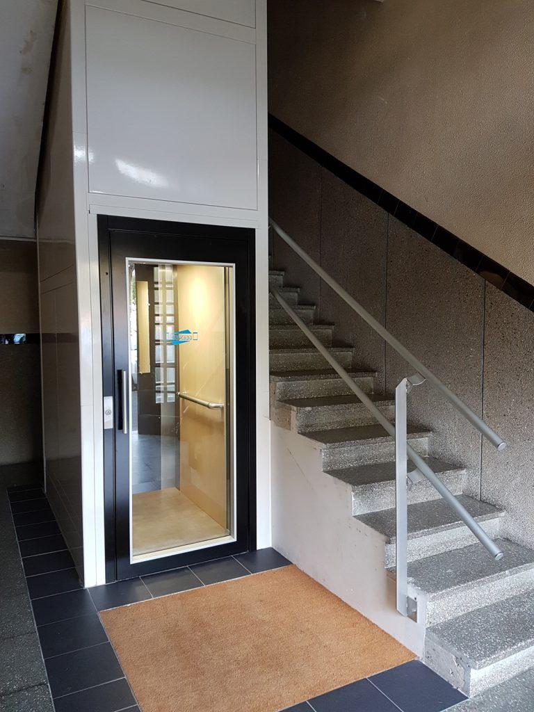 Ascenseur sur-mesure small monophase copropriété Normandie