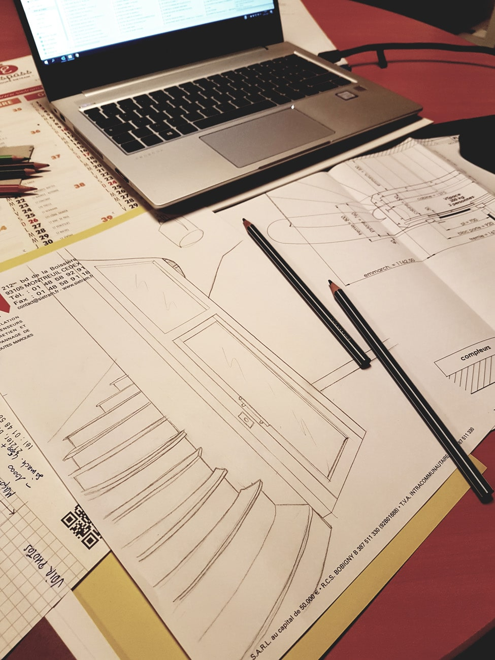 Bureau d'étude conception