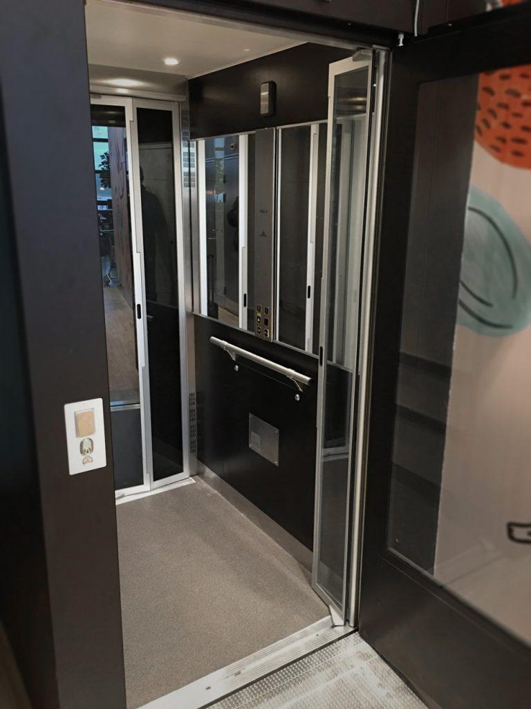 monte charge privatif ascenseur aritco