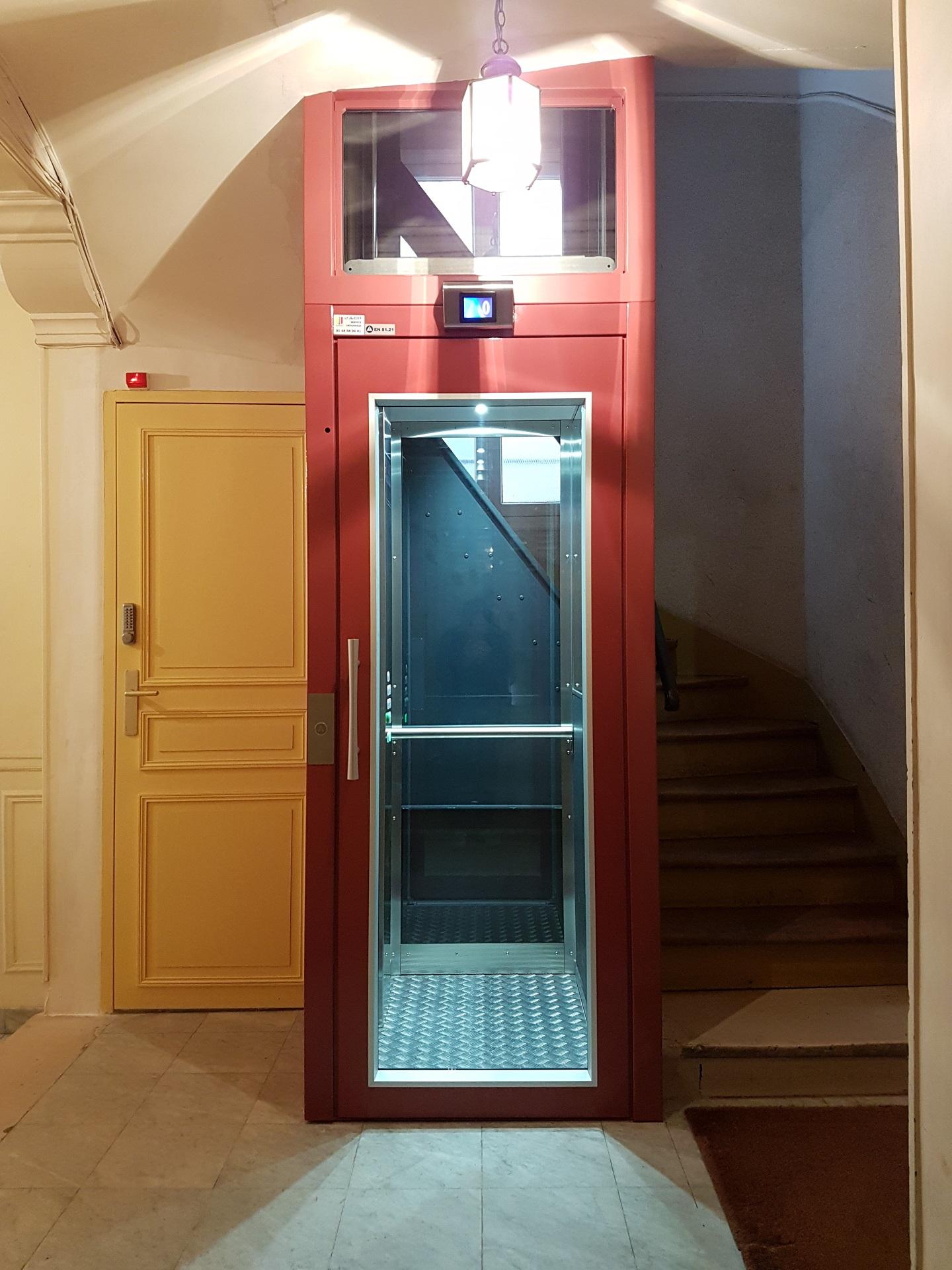 Votre Ascenseur sur mesure en île de France et en Normandie