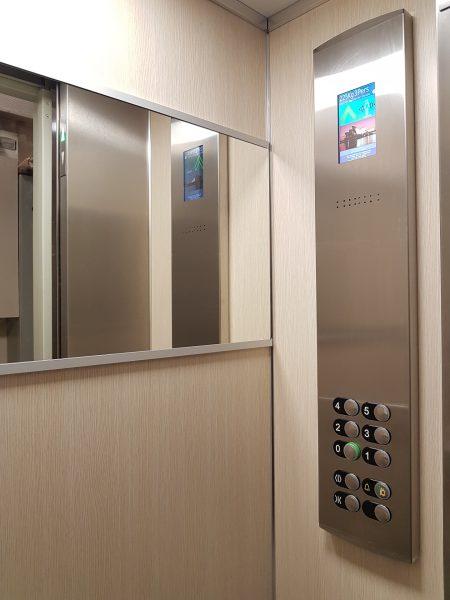Cabine ascenseur VSPACE